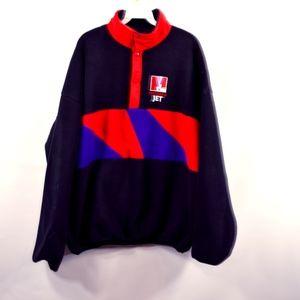 Vintage SHOTOVER NZ Mens XL Polartec Fleece Jacket